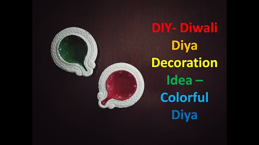 Diy how to google for Diya decoration youtube