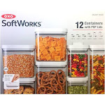 OXO Softworks 12 Containers with Pop Lids