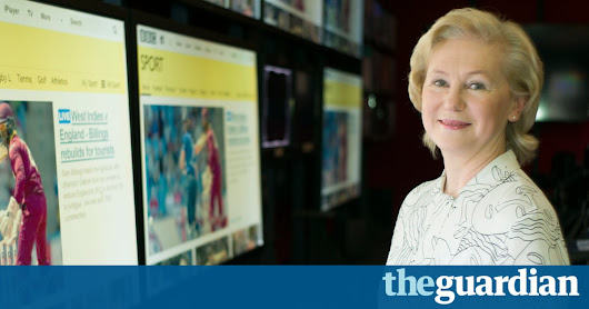 BBC Sport's Barbara Slater: 'There's a transformation in women's coverage' | Television & radio | The Guardian
