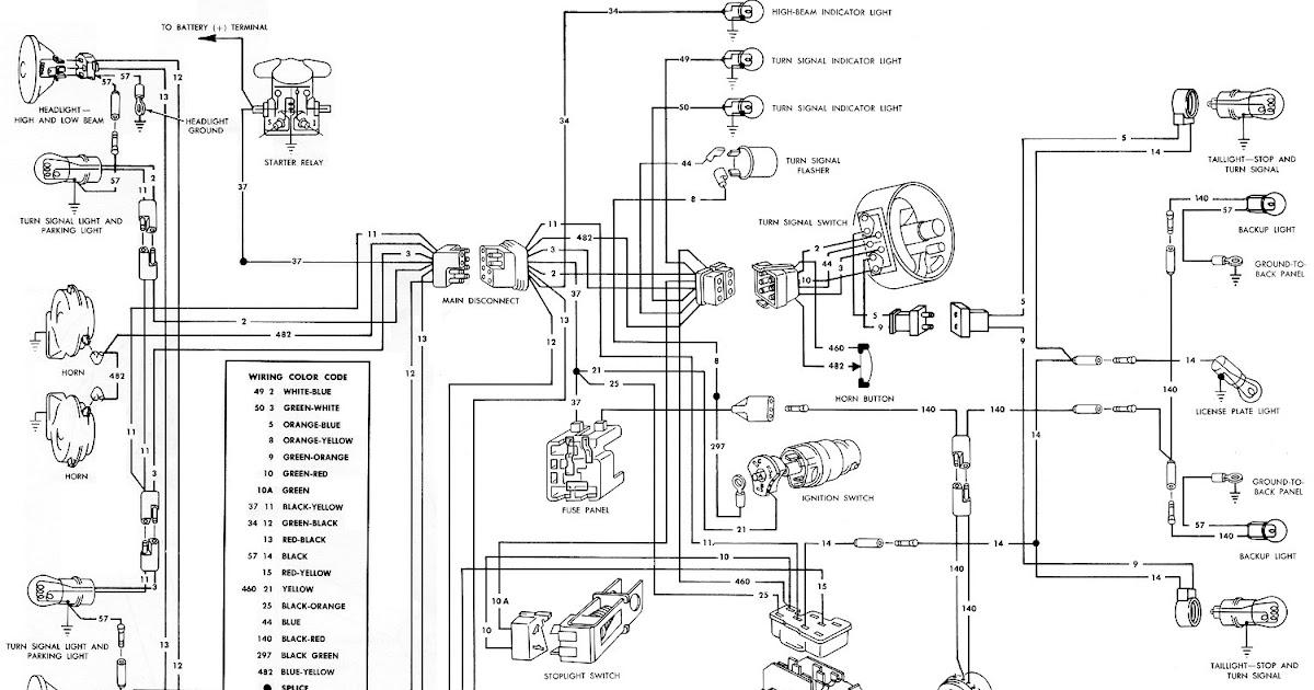 66 Mustang Wiring Diagram