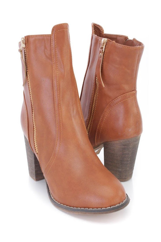 Fall Booties Collection : Stay warm and stylish in these adorable chunky heel ankle booties! The features ... - TalkFashion | You number one source for daily Fashion Trends & Inspiration