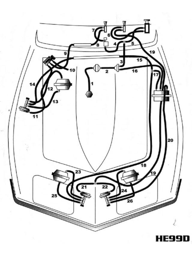 Corvette Vacuum Systems Guide Headlight And Windshield Wiper Door Repair Vette Magazine