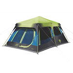 Coleman 10-Person Dark Room Instant Cabin Tent with Rainfly