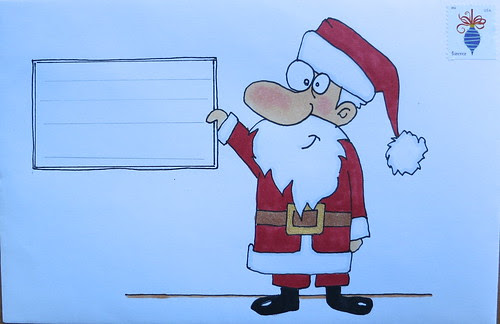Christmas envelope #4
