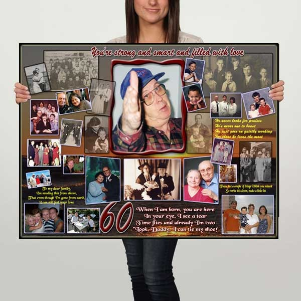 Birthday Gift Ideas 60th Birthday Photo Gifts For Dad