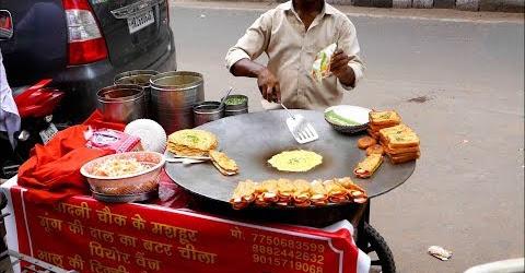Bánh rán mỡ hành Ấn độ béo ngậy Indian Streetfood