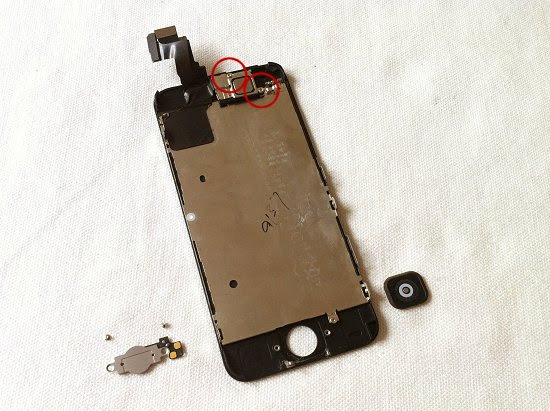 iPhone 5C disassembly stage 12