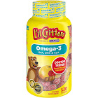 L'il Critters Omega-3 DHA Gummy Fish Dietary Supplement, Assorted Fruit - 120 count