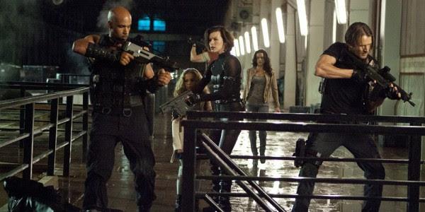 Leon, Barry e Luther em novas fotos de Resident Evil 5: Retribuição