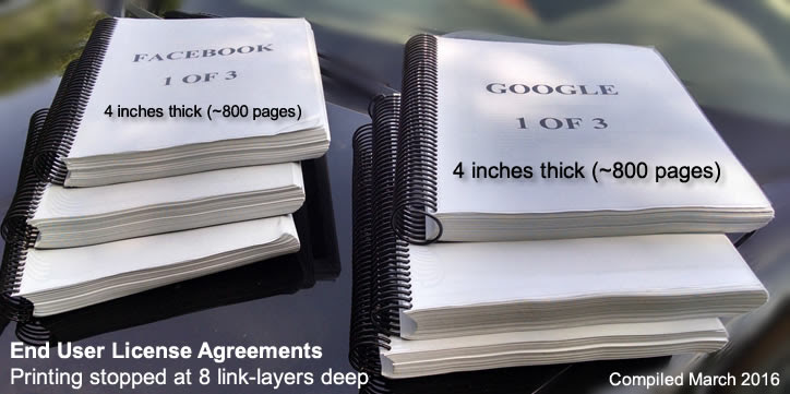 Facebook and Google End License Agreements