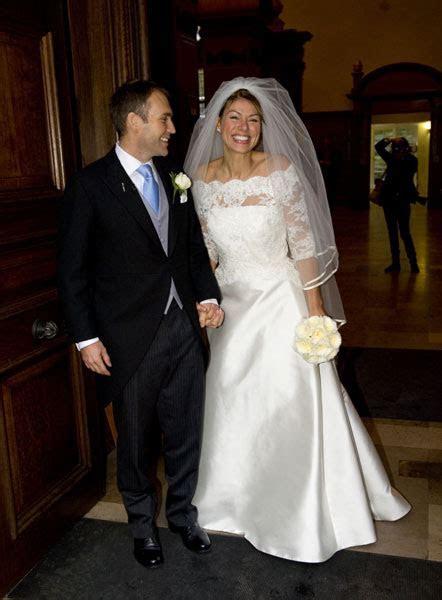 Winter wedding joy for newsreader Kate Silverton and her