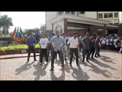 Flash Mob at Yenepoya College.