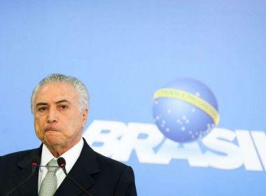 'Até Lula reconheceu que houve uma tentativa de golpe contra mim', diz Temer a jornal