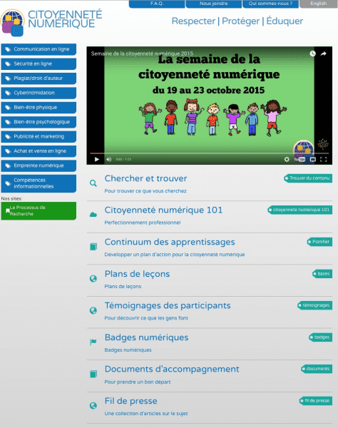 L'initiative de citoyenneté numérique  |  LEARN Blog - learning from each other and building a community