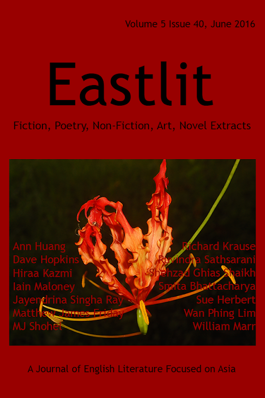 Eastlit June 2016: Asian Literature. Poetry. Fiction, Art.