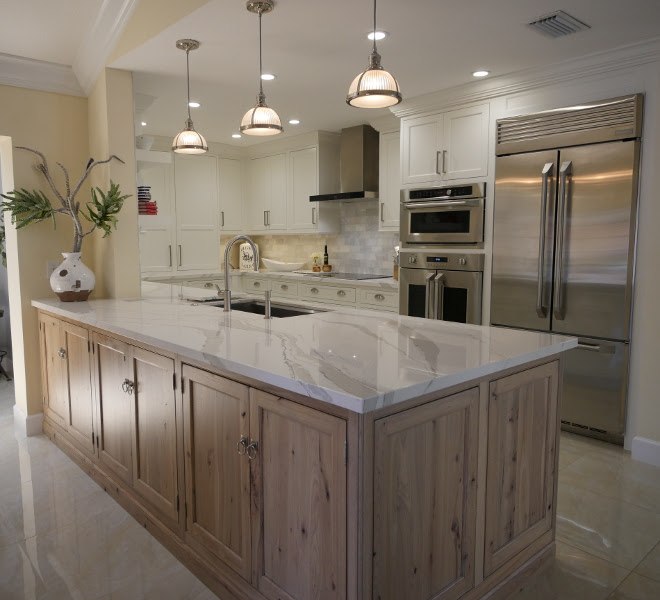 Nice Kitchen Interior Design Hickory Kitchen Cabinets With Stainless Steel Appliances
