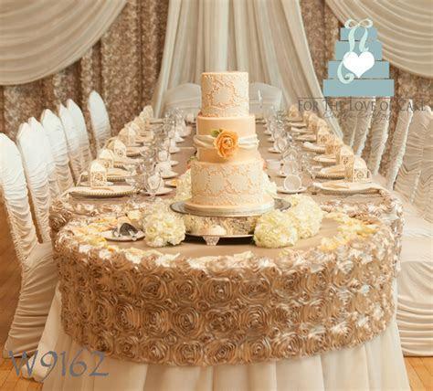Peach Lace Wedding Cake   CakeCentral.com