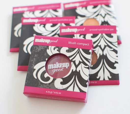 MakeupGeek Eyeshadow and Blushes Review with Swatches | Venti Fashion