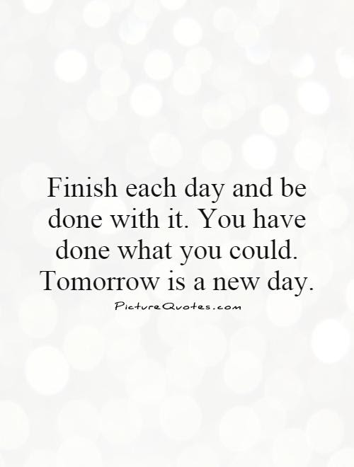 New Day Quote Quote Number 606343 Picture Quotes