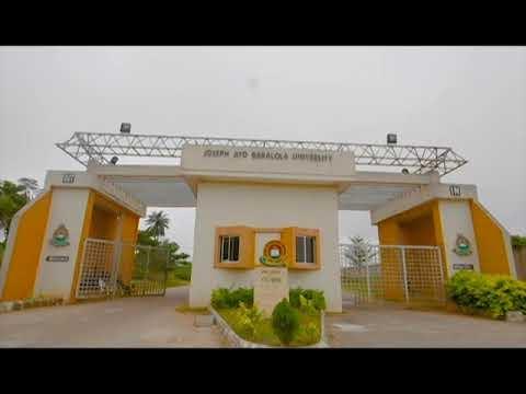 Joseph Ayo Babalola University JABU Anthem