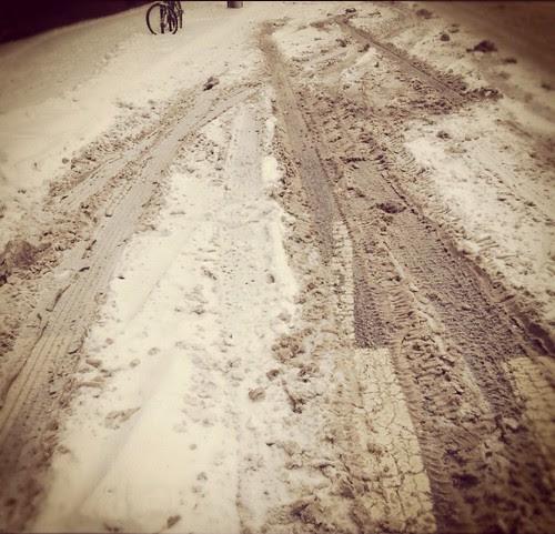 Winter Bike Lane