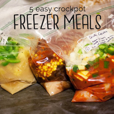 crockpot freezer meal recipe