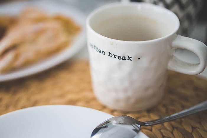 Setting Out a Blog Post - Coffee Break