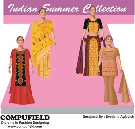 computer aided creative fashion designing course in bridal