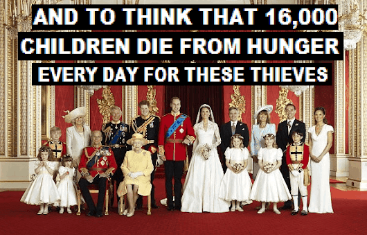 Whining Windsors complain of media attention as they bleed the country dry