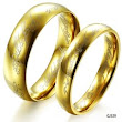 Wholesale Fashion Jewelry 18k gold  titanium 316L stainless steel lovers ring the lord of the rings promise rings for couples