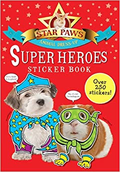 Super Heroes Sticker Book