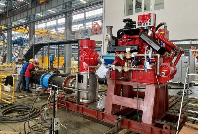 Pompa Air Pemadam Kebakaran Turbin Vertikal 2000 GPM ...
