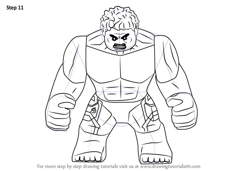 Completare! Disegni Da Colorare Avengers Lego - Scarica ...