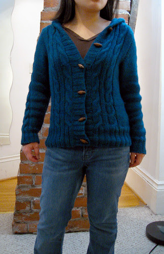 Central Park Hoodie from Knitscene Fall 2006