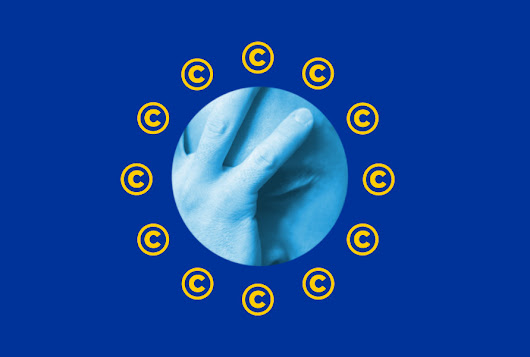 The EU's latest copyright proposal is so bad, it even outlaws Creative Commons licenses
