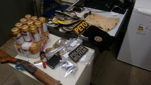 Após realizarem sequestro, assaltar mercado, bandidos entram em confronto com a polícia em Brumado; mas se dão mal