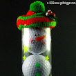 Golf Ball Snowman | GolfBlogger Golf Blog
