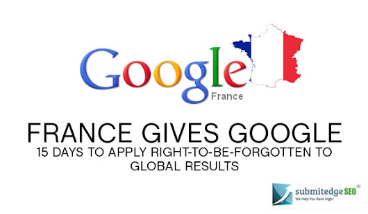 France Imposes RTBF on Google Global Results-Right or Wrong?