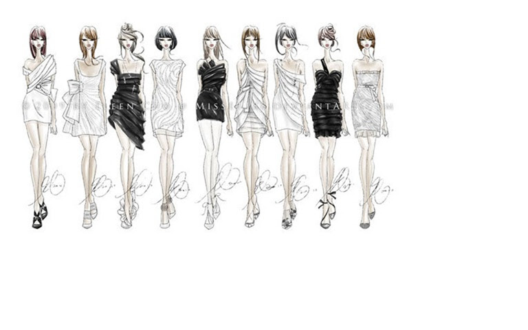 Fashion All The Time How To Sketch Fashion Designs For Beginners