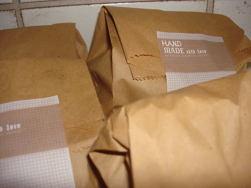 Verpackung Lunch Sandwiches