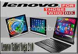 Produktifitas Tinggi dengan Lenovo Tablet Yoga 2 10