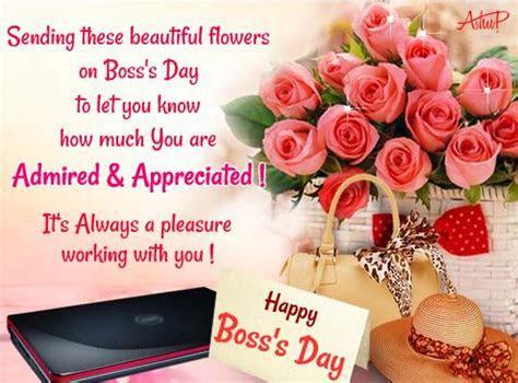Flowers Of Admiration & Appreciation. Free Women Boss