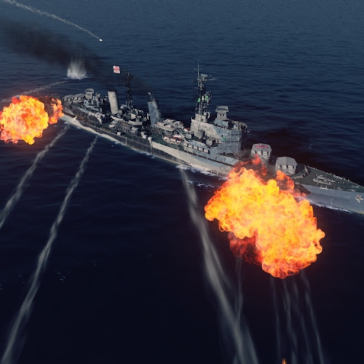 New World of Warships Visual Effects (images)
