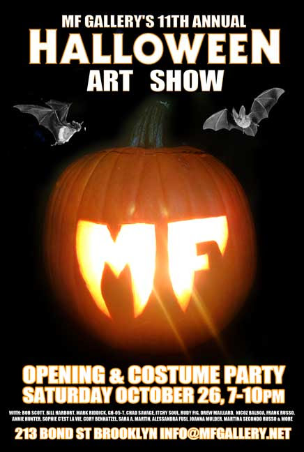 MF Gallery's 11th Annual Halloween Art Show