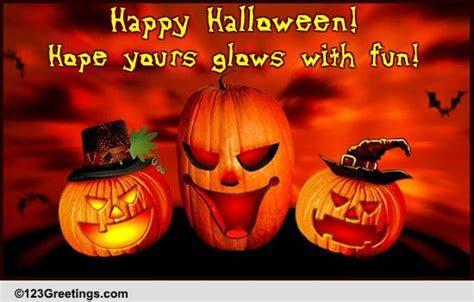 Send Halloween Wishes! Free Happy Halloween eCards