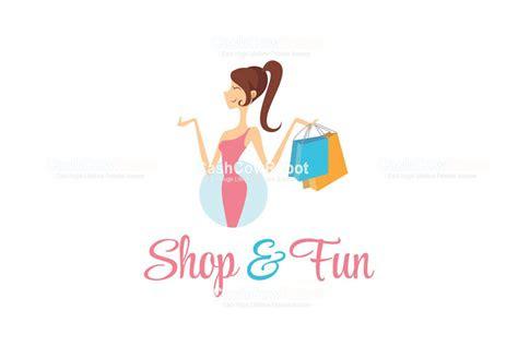clothes garments boutique   shopping logo design