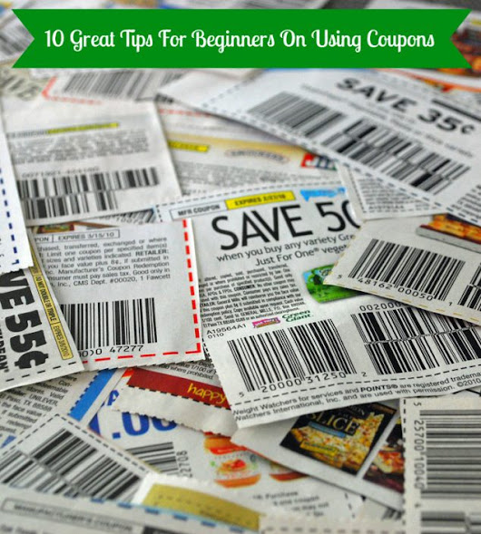 Beginner's Guide To Couponing - Family Focus Blog