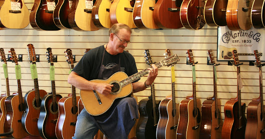 Greece guitar store owner rocks on at Stutzman's Guitar Center
