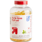 100% Wild Alaskan Burp Less Fish Oil Dietary Supplement Softgels - 150ct - Up&Up , Adult Unisex