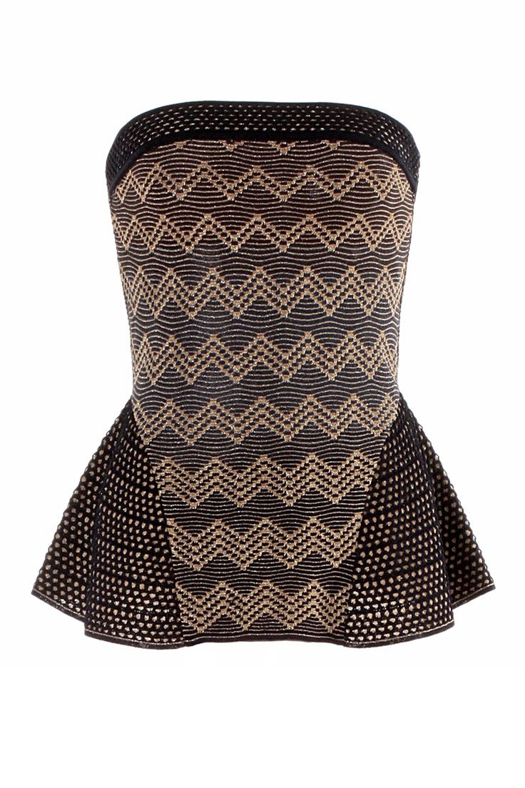 #MMissoni | Chevrons Lurex Top | Spring 2014 Collection